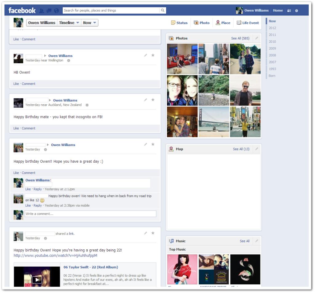 Novo Facebook