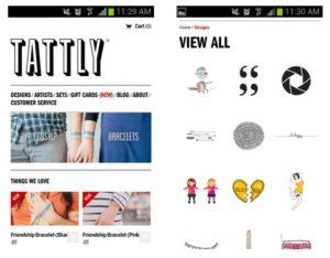 Tattly - Responsive Design