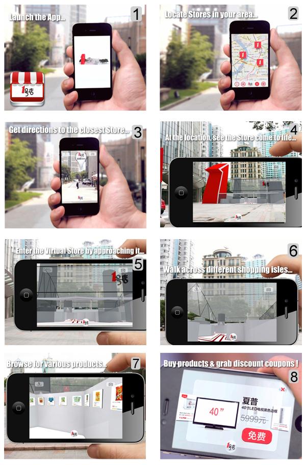 Realidade aumentada: como utilizar o app Yihaodian