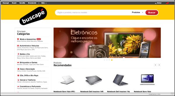 Como o Google Funciona. Exemplo da página do buscape.com.br como é vista pelo usuário