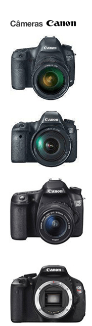 Canon - Top 10 Melhores câmeras para fazer vídeos e fotos de produtos para Loja virtual