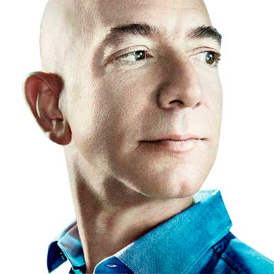 Jeff Bezos, CEO e Fundador da Amazon - Game of Thrones do E-commerce: A Estratégia da Amazon para dominar totalmente o varejo online mundial