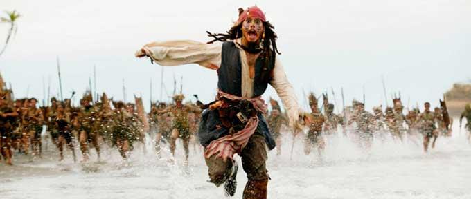 3 Formas Eficazes de Superar o Medo de Falar em Público - Cena do filme Piratas do Caribe, da Disney.