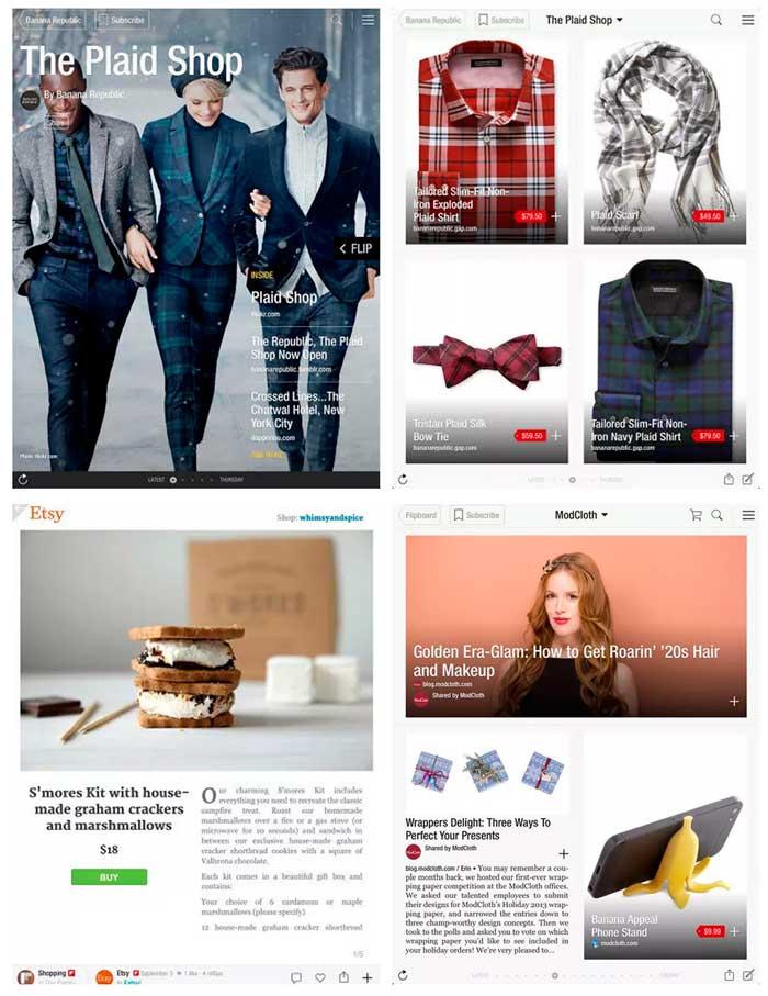 Loja virtual no Flipboard? Aplicativo lança recurso de catálogo social para venda de produtos