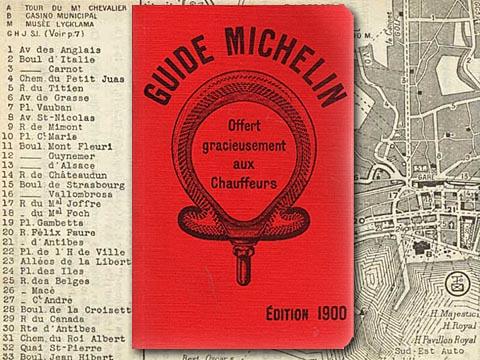 Primeira cópia do Guia Michelin em 1900 - 8 vantagens em utilizar Marketing de Conteúdo para E-commerce