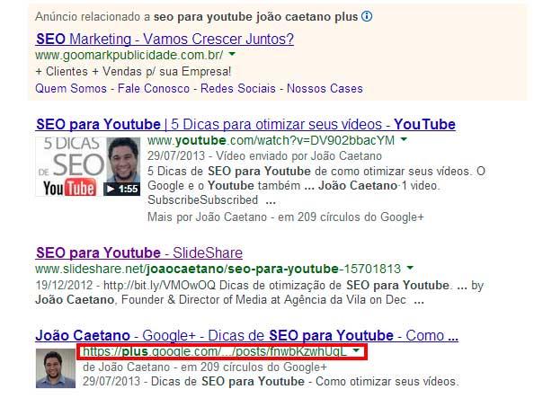 1 motivo para você usar o Google Plus para E-commerce.
