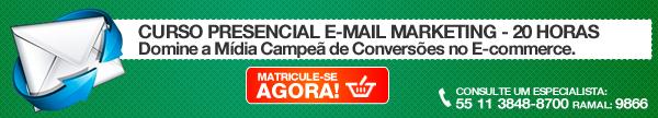 Curso Presencial - E-mail Marketing