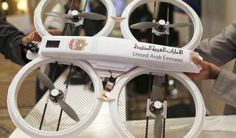 Dubai testa entrega com drones com identificação de retina e impressões digitais.