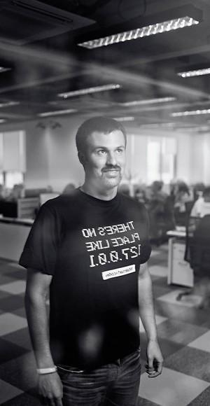 Antes de chegar ao Walmart.com, Flávio, 36 anos, trabalhou na Philips e chefiou o e-commerce do Magazine Luiza (foto: Claus Lehmann).