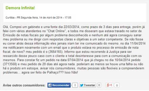 O Atendimento no Chat Online acompanhou a evolução de sua estrutura?