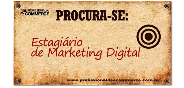 Vaga de Estagiário de Marketing Digital na FranchiseHub.