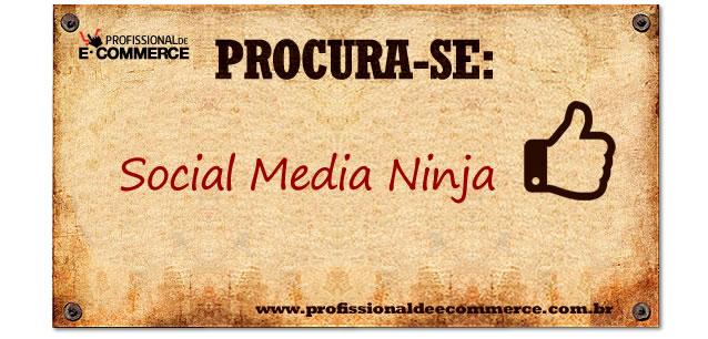 Vaga de Social Media Ninja na DBR.