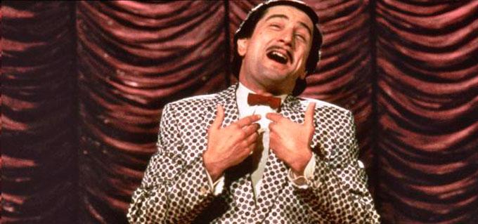 """Robert De Niro em """"O Rei da Comédia"""", dirigido por Martin Scorsese"""