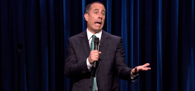 Jerry Seinfield, Comediante