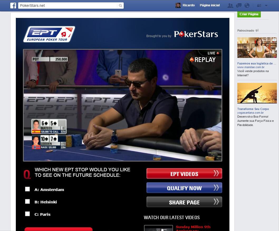 Ao final das transmissões, os vídeos ficam disponíveis tanto no Youtube quanto na Pokerstars.tv. O replay da última transmissão pode ser vista no próprio Facebook.