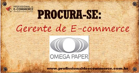vaga e-commerce omegapaper