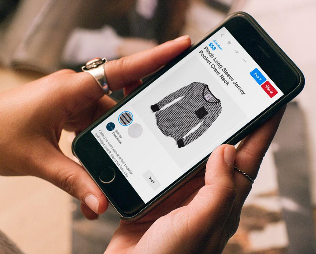 botão, Pinterest, Instagram, audiência, compra, produto, anunciar, mercado,