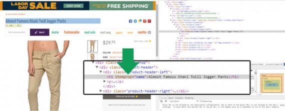 A ferramenta de desenvolvedor no Google Chrome é extremamente útil para definir o xpath