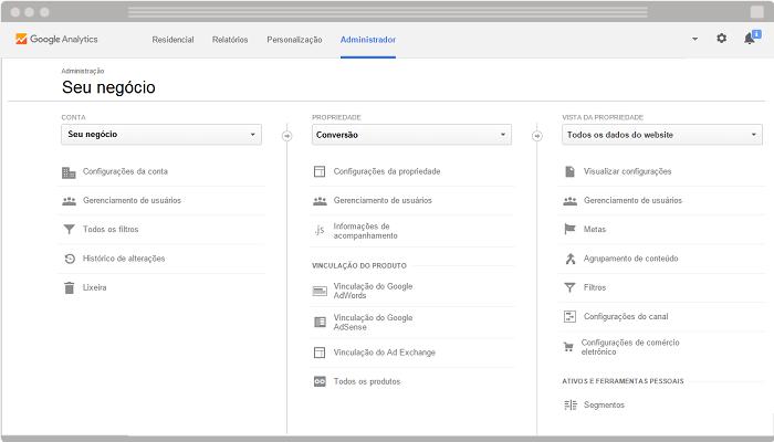 Como configurar meta e funil no Google Analytics 12