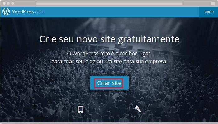 1 Criar site