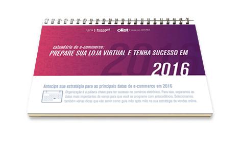Calendário do E-commerce para 2016
