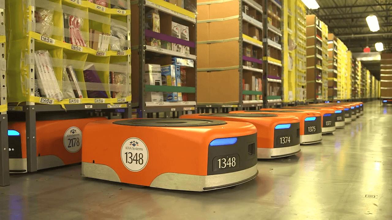 Robôs da Amazon